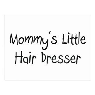 Mommys poco aparador del pelo postal