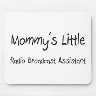 Mommys poco ayudante de la emisión de radio alfombrilla de ratones