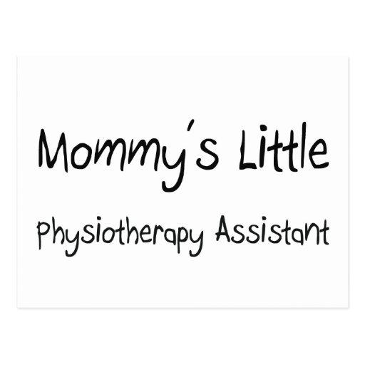 Mommys poco ayudante de la fisioterapia postal