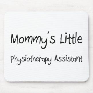 Mommys poco ayudante de la fisioterapia alfombrillas de ratones