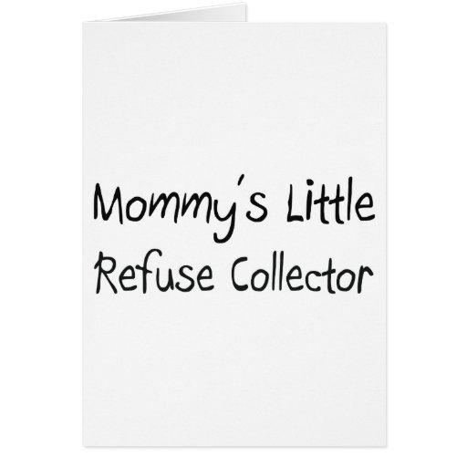 Mommys poco colector de basura tarjetón