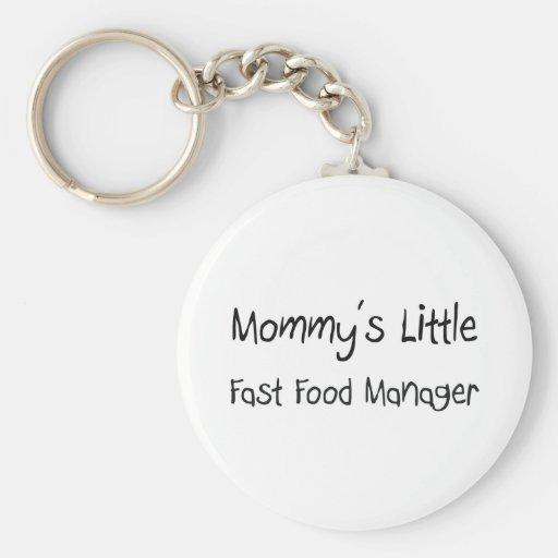 Mommys poco encargado de los alimentos de preparac llavero redondo tipo pin