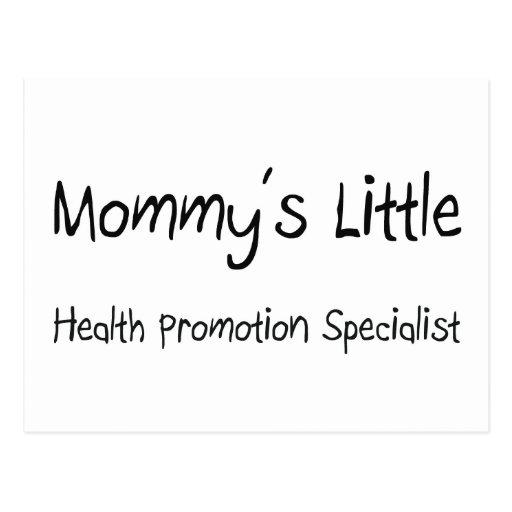 Mommys poco especialista de la promoción de la sal tarjeta postal
