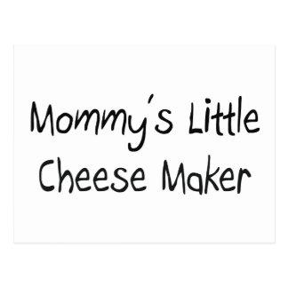 Mommys poco fabricante del queso postales