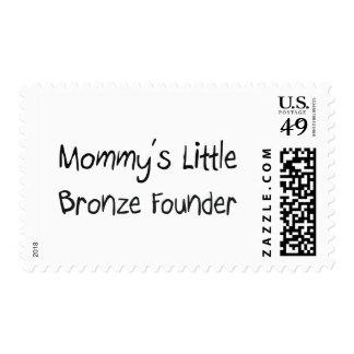 Mommys poco fundador de bronce sellos