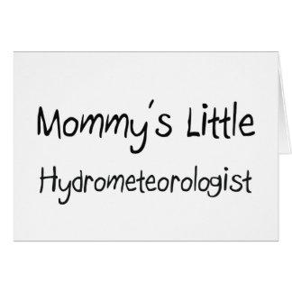Mommys poco Hydrometeorologist Tarjetas