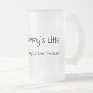 Mommys poco informático geofísico taza cristal mate