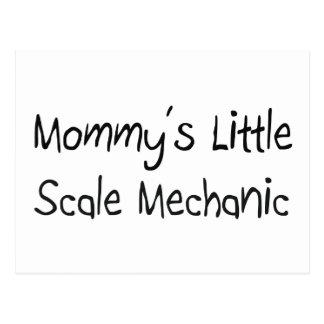 Mommys poco mecánico de la escala postales