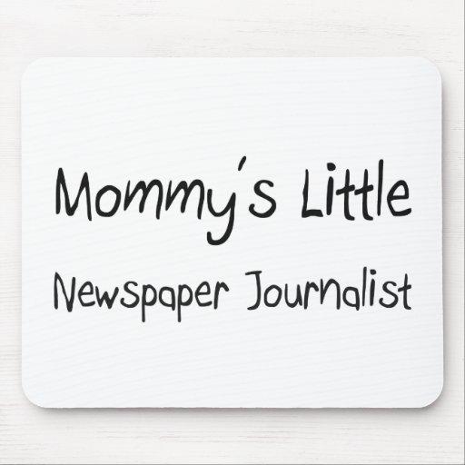 Mommys poco periodista del periódico tapetes de raton