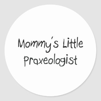 Mommys poco Praxeologist Etiquetas Redondas
