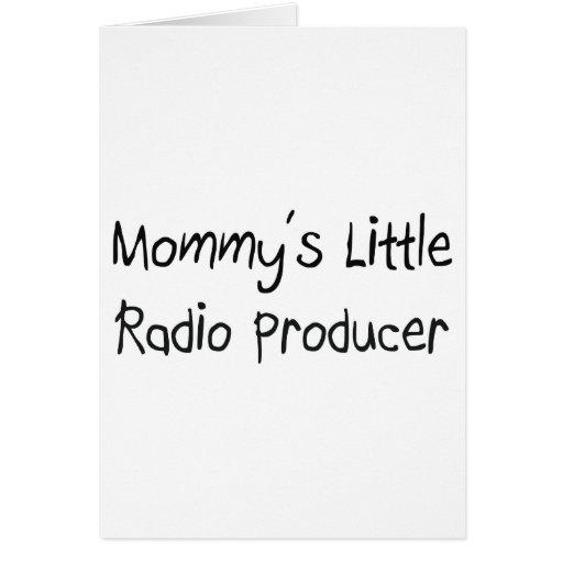 Mommys poco productor de radio tarjeton