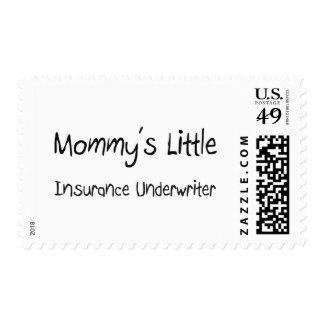 Mommys poco suscriptor de seguro sello
