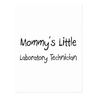 Mommys poco técnico de laboratorio postal