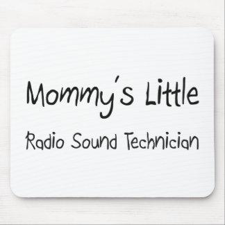 Mommys poco técnico sano de radio alfombrilla de raton