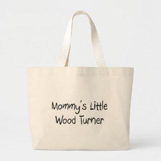 Mommys poco Turner de madera Bolsas De Mano