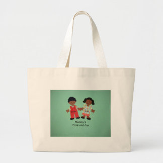 Mommy's Pride and Joy Large Tote Bag