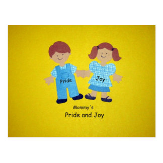 Mommy's Pride and Joy Postcard