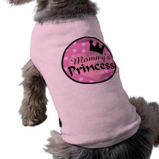 Mommy's Princess Dog Sweater Tee