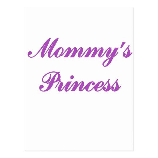 Mommy's Princess Postcard