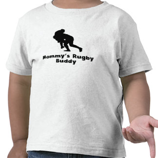 Mommy's Rugby Buddy T-shirt