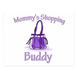 Mommy's Shopping Buddy Postcard