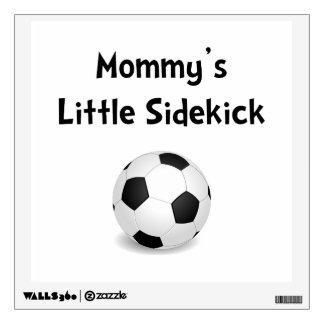 Mommy's Sidekick Soccer Wall Sticker