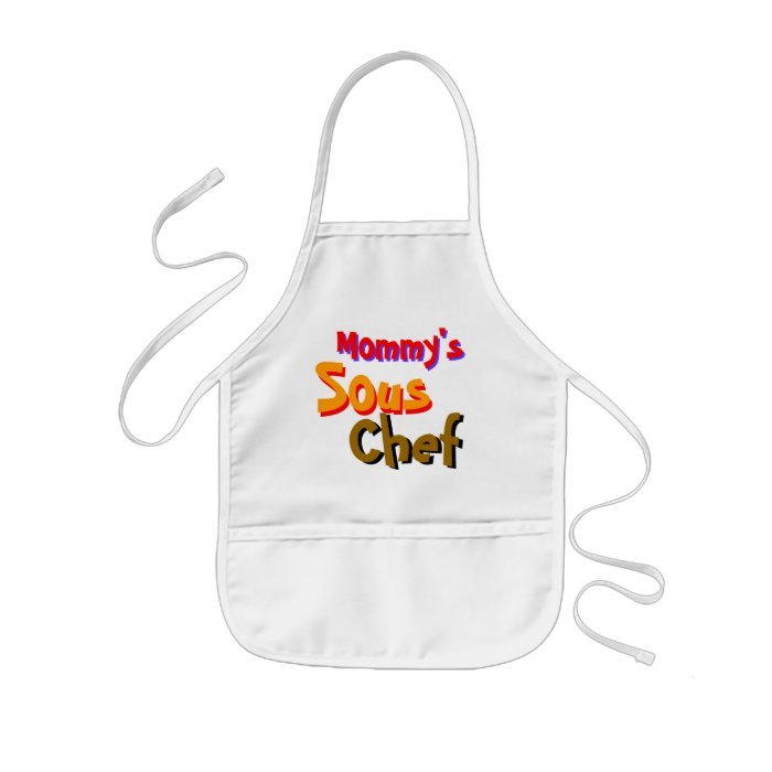 Mommy's Sous Chef Kids' Apron