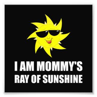 Mommys Sunshine Photo Print