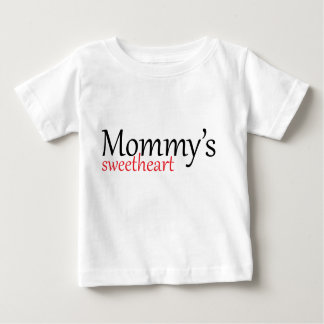 Mommy's sweetheart baby t-shirt