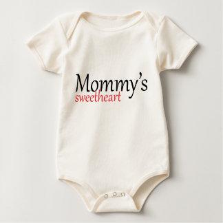Mommy's sweetheart infant t-shirt