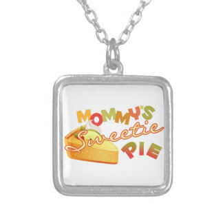 Mommy's Sweetie Pie Personalized Necklace