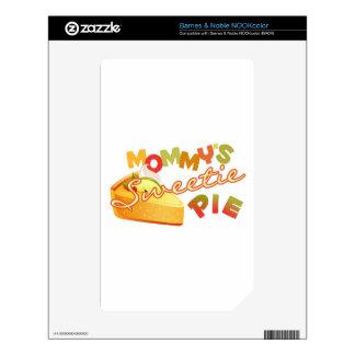 Mommy's Sweetie Pie NOOK Color Decals