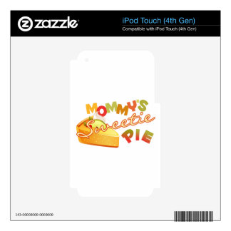Mommy's Sweetie Pie iPod Touch 4G Decal