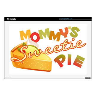 """Mommy's Sweetie Pie Decals For 17"""" Laptops"""