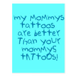 Mommys Tattoos Rock! Postcards