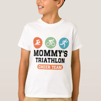 Mommy's Triathlon Cheer Team T-Shirt