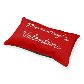 Mommy's Valentine Pet Bed