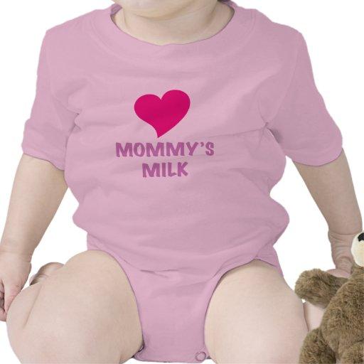 mommy'smilk/chica camiseta