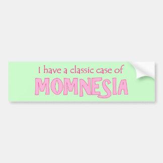 Momnesia Bumper Sticker