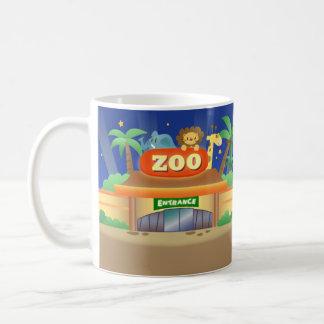 Momo Arrive To The Zoo Mug