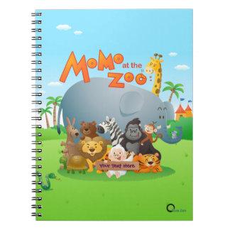 Momo At The Zoo Notebook