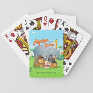 Momo At The Zoo Playing Card Playing Cards