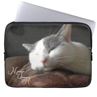 Momo Cat Neoprene Laptop Sleeve 13 inch