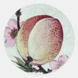 Momo (peach) Ukiyo-e. Sticker
