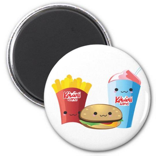 Momo Room Fast Food Magnet