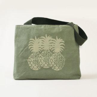 Momona Hawaiian Tropical Pineapple Beach bag