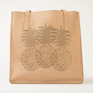 Momona Hawaiian Tropical Pineapple Beach Bag Tote