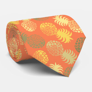 Momona Hawaiian Tropical Pineapple Tie