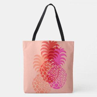 Momona Pineapple Hawaiian Reversible Beach Bag