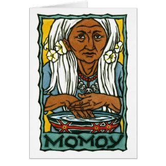 Momoy Greeting Card